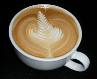 Symphony Latte, by Tyler Hauptman of Sweet Masterpiece