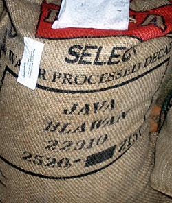 Java Blawan Estate Mountain Water Decaf Coffee Beans