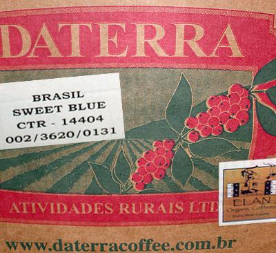 Brazil Daterra Estate Sweet Blue, Rainforest Alliance and Organic certified
