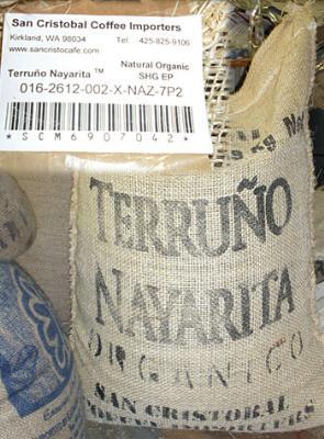 Organic Mexico Terruno Nayarita Natural